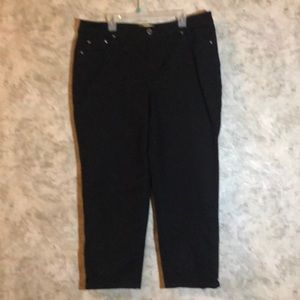👖JMS* Stretch Classic Denim Black Jeans